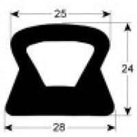 Уплотнение двери верхнее (046571.70) для Ротационная печь (хлебопекарный шкаф) Miwe shop-in