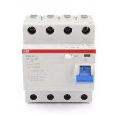 Выключатель (2CSF204001R2800) дифференциального тока 4 мод.F204 AC-80/0,1 ABB