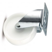 Колесная опора поворотная Alfa (3470UOO080P62)  TENTE диаметр 80 мм, ширина 34 мм. Температура применения -40 - +80 град.