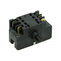 Выключатель поворотный (41.32723.010) 7 положений, 2х-полюсный + сигнальный контакт EGO Подходит к ARISTON, EGO, HOTPOINT, Indesit, Whirlpool