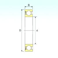 Подшипник 6311RS для месильного узла в тестомесе DIOSNA SPV 120A (ОРИГИНАЛ)