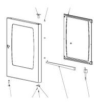 Комплект стеклянных панелей (87.01.412) для Пароконвектомата RATIONAL SCC 101