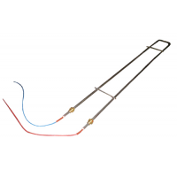 Тэн (AF102193211) 1100 Вт 230 В E102 L797 провода синий/красный для Электрической подовой печи Bongard OMEGA 2 1 ряд 800 мм