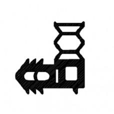 Уплотнение (AF105055242) двери 1000X1900 для Ротационной печи Bongard 8.84