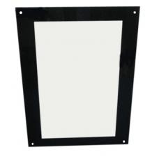 Стекло двери (AF105154901) внешнее 982x700x5 мм для печей Bongard S4
