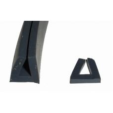 Уплотнение (AF105158153) внутреннего стекла двери 178 QUAL 9750 для печей Bongard S4 (цена за 1 метр)