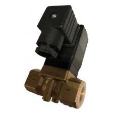 Клапан (AF105180401) соленоидный 1/2 NF 24V DC 12W для Ротационных печей Bongard (АНАЛОГ)