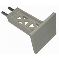 Матрица (AF126552001) пластиковая 99x93x145 мм ВИНТ 42 мм для Тестоделителей Bongard MACH3/MERCURE 20