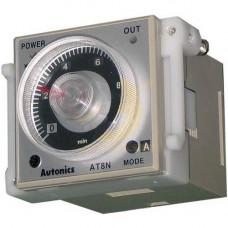 Реле времени AT8N, задержка от 005 сек до 300 час, питание 24-240VAC/DC или 12VDC для Тестомесов