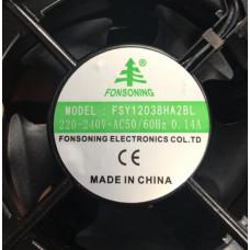 Вентилятор канальный (FSY12038HA2BL) 220-240V 0,14A для Холодильной витрины