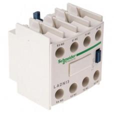 Блок дополнительных контактов (LADN13) НО+3НЗ фронтальный монтаж, крепление - винтовые зажимы Schneider Electric