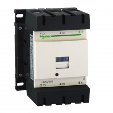 Контактор (LC1D115M7) 220В 115А 1з+1р Schneider Electric