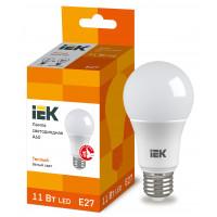Лампа (LLE-A60-11-230-30-E27) светодиодная ECO A60 шар 11Вт 230В 3000К E27 ИЭК