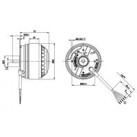 Электродвигатель переменного тока Ebmpapst M4E068-CF01-39