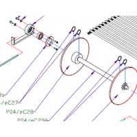 Звезда (P04/eC14, P04/eC16, P04/eC28, P04/eC30) цепного  для Упаковочной машины 3000/2 Vidnar