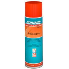 Смазка силиконовая (Silikonspray) ADDINOL аэрозоль, температура применения: от −50 °C до +250 °C, пищевой допуск NSF H1 (фасовка 0,5 л)