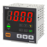Терморегулятор TC4M-14R 72х72х64.5мм  4 разряда, аварийный выход, 100-240VAC, выход реле и ТТР, (без термопары)
