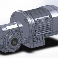 Мотор-редуктор (VFR49 L1 FС1 i=240 P71 B5 B6) Bonfiglioli