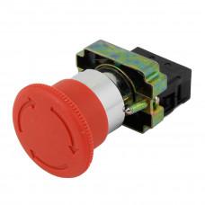 """Кнопка аварийной остановки (XB2BS542) """"СТОП"""" с фиксацией, красный грибок Schneider Electric"""